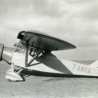 France Potez 6 B.D. 120 CV Aviation F-AMRA Old Photo 1934   Aviation,France