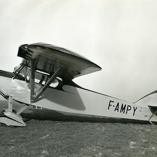 France Potez 43 6 A.G. 100 CV Airplane F-AMPY Old Photo 1932   Aviation,France