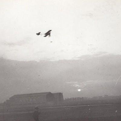 France Issy? Aviation Avia-Goupy? Biplane old Photo circa...