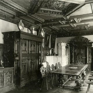 Switzerland Basel Museum interior Furniture old Photo...
