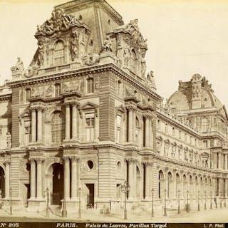 France Paris Louvre Palace Pavillon Turgot old Photo LP...
