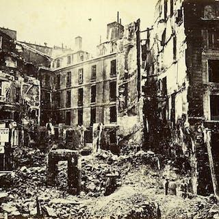 Commune de Paris Ruins Croix Rouge Junction Cherche Midi...