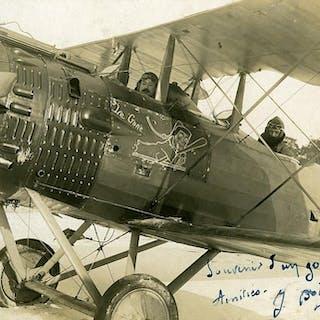 France WWI Aviation Salmson Jacques Boisse Pilot Le Gone...