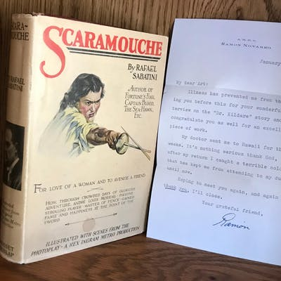 SCARAMOUCHE (1923 Photoplay Inscibed By Both Stars
