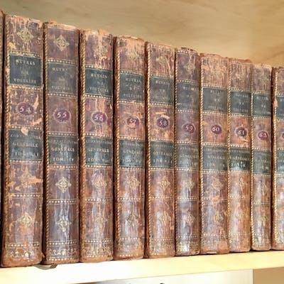 CORRESPONDANCE GÉNÉRALE 1715-1778 VOLTAIRE