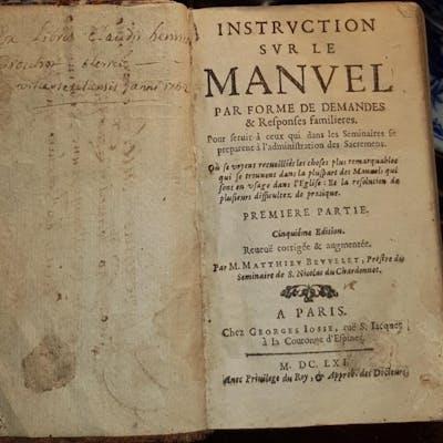 Instruction sur le Manuel Matthieu Bevvelet