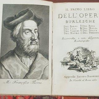 Il Primo - Secondo - dell' Opere Burlesche del Berni