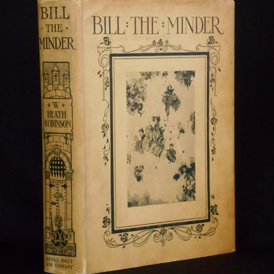 Bill the Minder Robinson, W. Heath Children and Young Adult,Illustrated Books