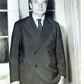 "6"" x 8"" Black-And-White Press Photograph of Justice Jackson Jackson"