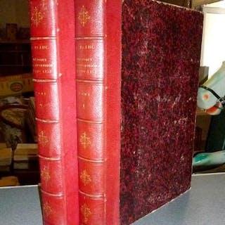 Histoire de la Révolution française (complet en deux volumes) Blanc, Louis