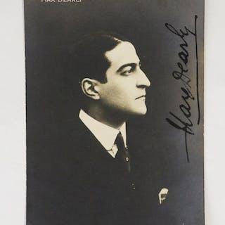 Carte postale photographique signée de Max Dearly DEARLY...