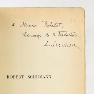 Robert Schumann SCHUMANN Eugénie Beaux-arts|Musique & Danse