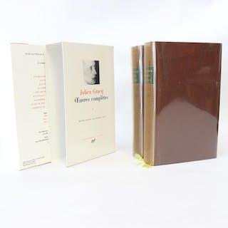 Oeuvres complètes GRACQ Julien Littérature|Divers littérature