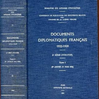 Documents diplomatiques français 1932-1939 / 2e série...