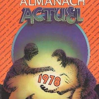 Almanach Actuel 1978 Collectif GENERALITES
