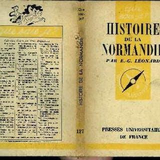 Que sais-je? N° 127 Histoire de la Normandie Léonard Emile-G