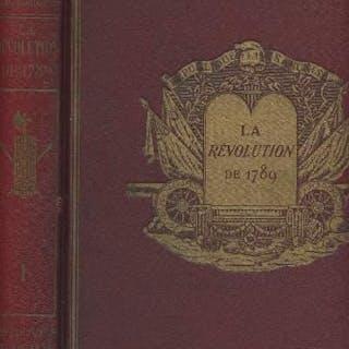 La révolution de 1789 - Tome premier Sagnac Philippe & Robiquet Jean GEOGRAPHIE