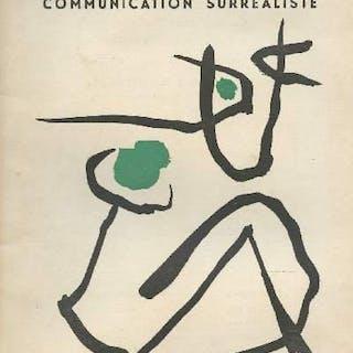 Medium communication surréaliste n°2 Paalen Février 1954 Collectif GENERALITES