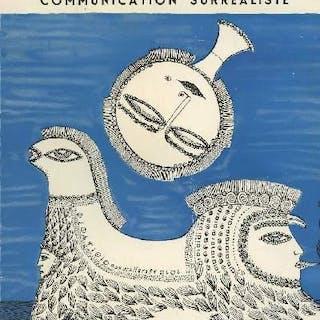 Medium communication surréaliste n°3 svanberg Mai 1954 Collectif GENERALITES