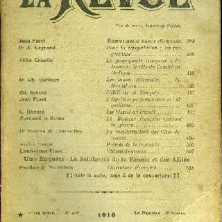 La Revue n° 5-6 - Russie russe et Russie allemande par Jean Finot
