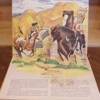 Les indiens (Livre animé Pop-up à système) E. Joseph Dreany LETTRES)