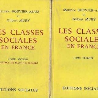 Les Classes sociales en France - Tomes I et II en 2...
