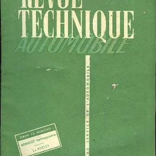 REVUE TECHNIQUE AUTOMOBILE N° 100 - Geneviève et la circulation