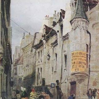 Dessins parisiens des XIXe et XXe siècle Collectif LES ARTS