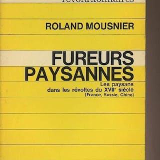Fureurs paysannes - Les paysans dans les révoltes du XVIIe siècle (France