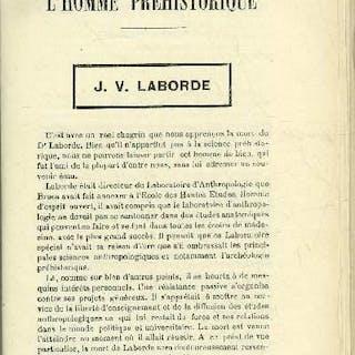 L'homme préhistorique n° 5 - J.V