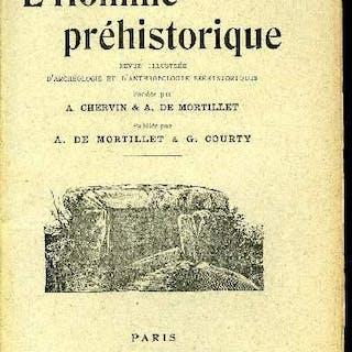 L'homme préhistorique n° 9-10 - Poteries ornées au graphite par Armand Viré