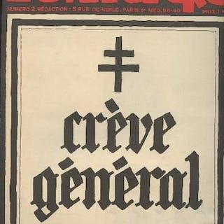 L'enragé - n°2 - Crève général Collectif GENERALITES
