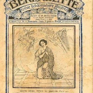 Bernadette - Hebdomadaire n° 247 - 20 novembre 1927 - Sainte Cécile