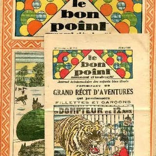 Le bon point amusant - Année 1935 - du 3 janvier au 24...