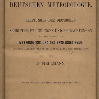 Repertorium Der Deutschen Meteorologie: Leistungen Der Deutschen In Schriften