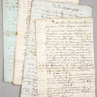 [Mémoires sur les journées de juillet 1789].