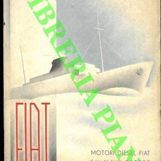 Motori diesel Fiat su navi estere. FIAT. Torino - Marina mercantile