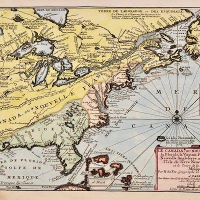 Le Canada ou Nouvelle France | Barnebys