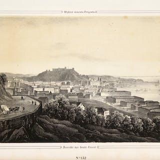 Ansicht der Stadt Triest - Veduta della citt? di Trieste...