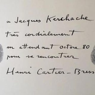 Henri CARTIER-BRESSON photographe CARTIER-BRESSON (Henri)