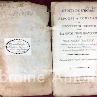 Droits de l'homme ou réponse à l'ouvrage de Monsieur...