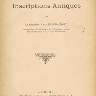 Inscriptions antiques du musée Calvet