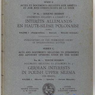 Actes et documents relatifs aux arrêts et aux avins...
