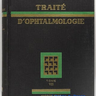Traité d'ophtalmologie, Tome VIII Collectif Médecine