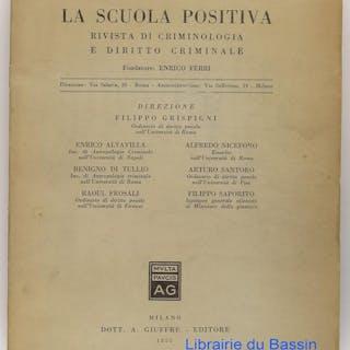 Delitto e personalita Collectif Livres en Italien