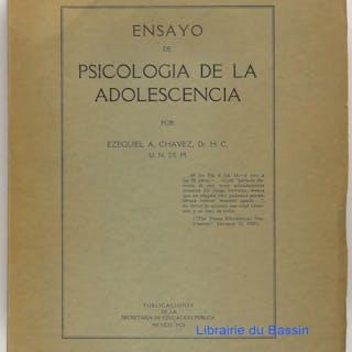 Ensayo de psicologia de la adolescencia Ezequiel A. Chavez Philosophie