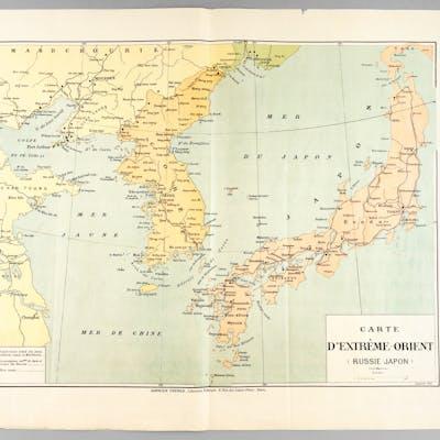Carte d'Extrême-Orient (Russie - Japon) Collectif...