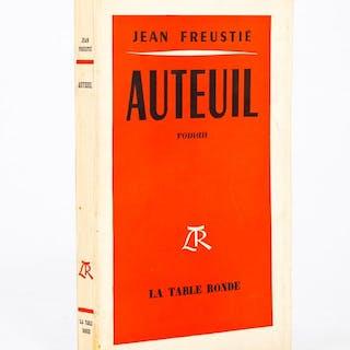 Auteuil [ Livre dédicacé par l'auteur ] FREUSTIE