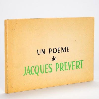 Un Poème De Jacques Prévert Cet Amour Si Violent Barnebys