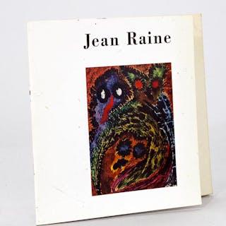Jean Raine [ Avec un pastel original sur double page par Jean Raine ] RAINE
